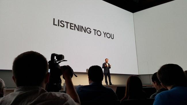 JK Shin menjelaskan Filosofi simple Samsung