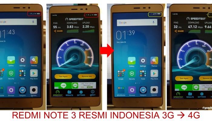 Cara Cemen Merubah Xiaomi Redmi Note 3 Resmi Dari 3g Ke 4g Lucky Sebastian