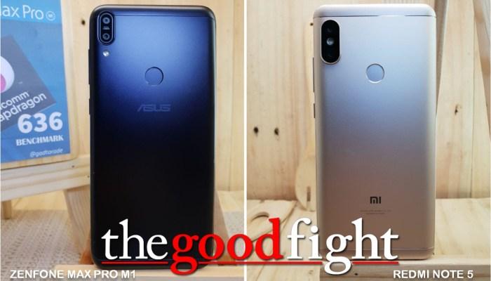 Kupas Tuntas, Asus Zenfone Max Pro M1 atau Xiaomi Redmi Note 5