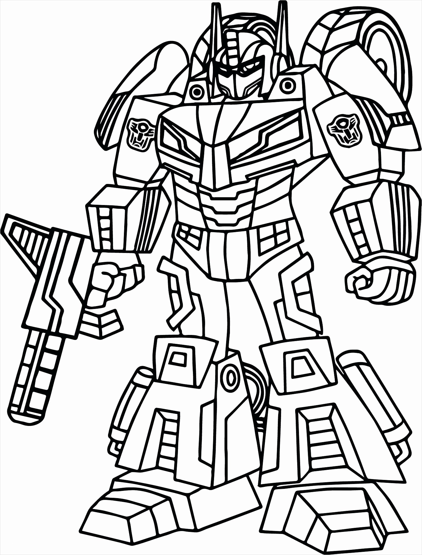Bumblebee Coloring Pages For Kids Novocom Top