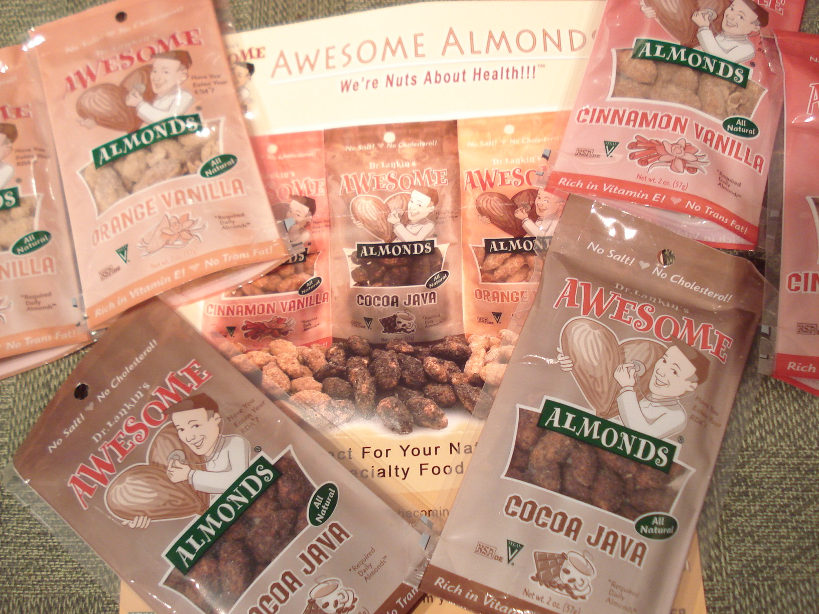 awesome almonds!