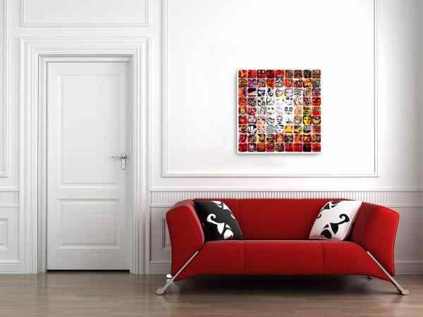 Happy Ending II (Barcelona, Spain) fine art print on canvas. Sold ready to hang