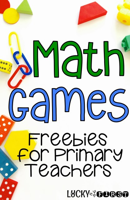 Math Games - Freebies for Primary Teachers