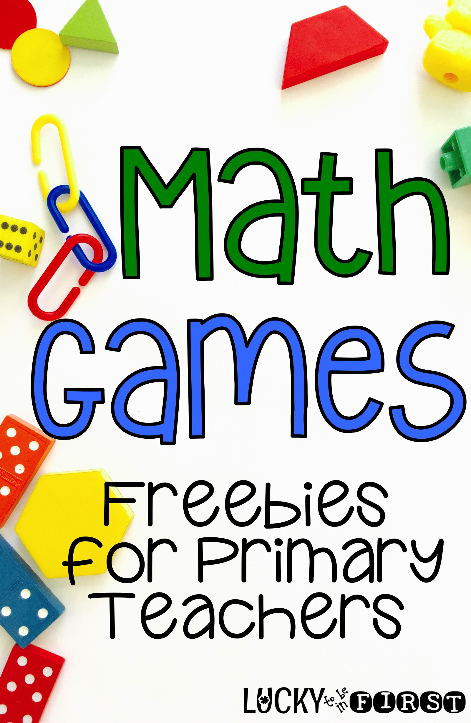 Math Games! Snag a bunch of Math Games for your primary kiddos!