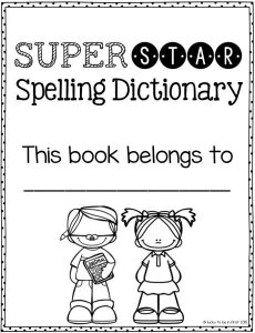 Lucky to Be in First Super Star Spelling Dictionary