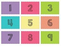 Calendar Number Freebie - Lucky to Be in First