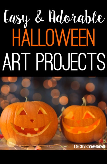 Easy & Adorable Halloween Art Projects for the Primary Classroom!