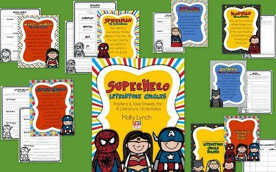 Superhero Literature Circles - Lucky to Be in First