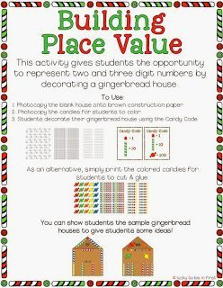 Building Place Value Gingerbread Unit | Run, Run As Fast As You Can - A Gingerbread Unit by Lucky to Be in First