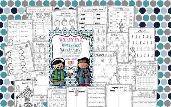 Worksheet Wonderland - Lucky to Be in First