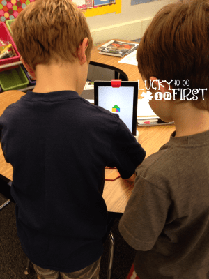 Using Osmo in First Grade | Lucky to Be in First