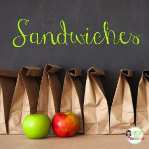 Looking for new ideas for your teacher lunchbox? Check out these easy & delicious lunch ideas! Easy Sandwich Ideas!
