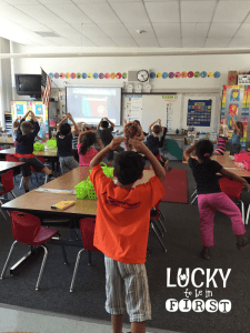 GoNoodle Body Spell Lucky to Be in First