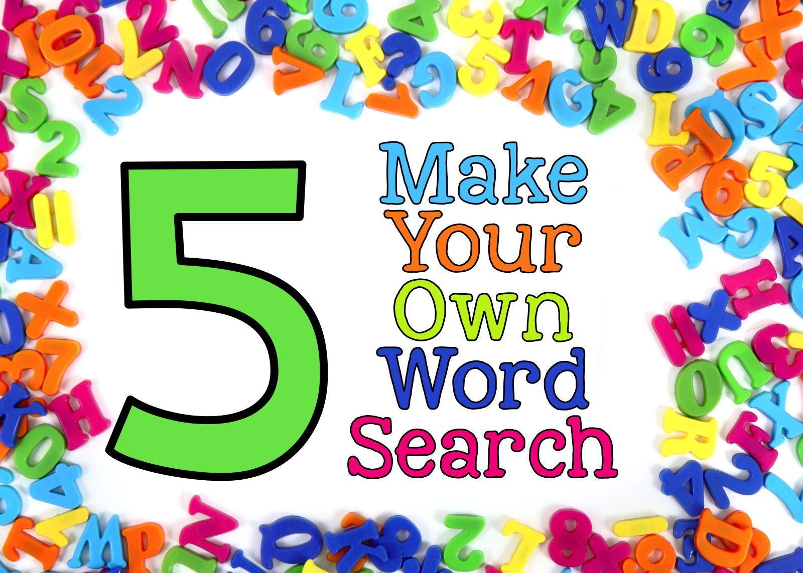 5 Ways To Perk Up Your Daily 5 Word Work