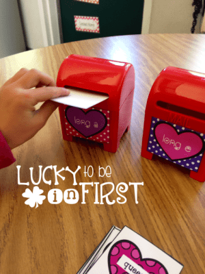 Phonics Mail Lucky to Be in First 3