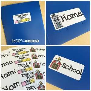 Take Home Folders Lucky to Be in First