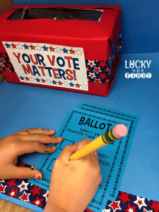 cast-your-ballot-election-activities-lucky-to-be-in-first