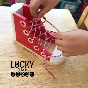 Shoe Tying Sneaker | Teach Your Students to Tie their own shoes!