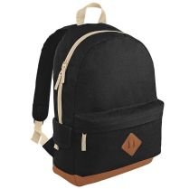 BagBase Black Backpack