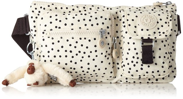 Kipling Polka Dot Bum Bag