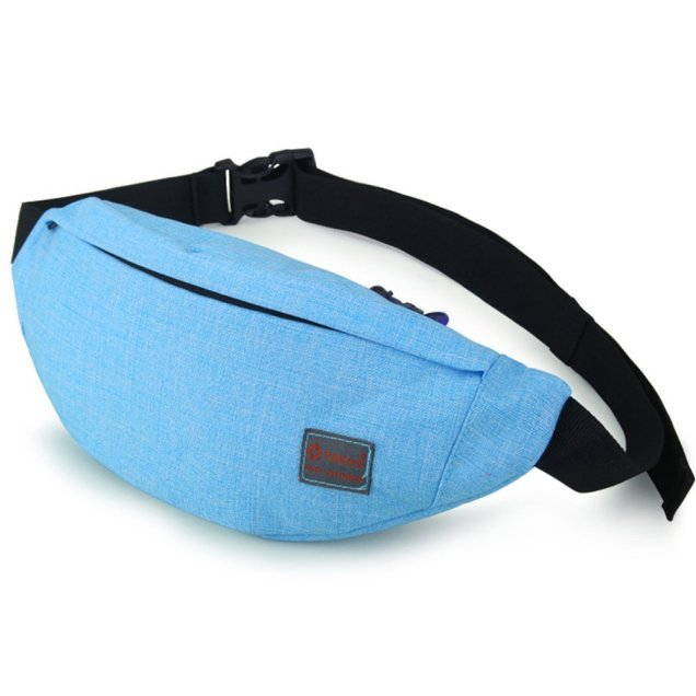 Tinyat Blue Bum Bag
