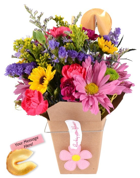 Lucky You Daughters Day Flower Arrangement