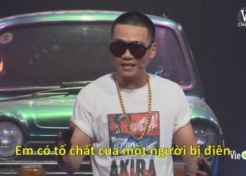 Lucloi.vn_Em Có Tố Chất Của Một Người Bị Điên - Wowy / Rap Việt meme