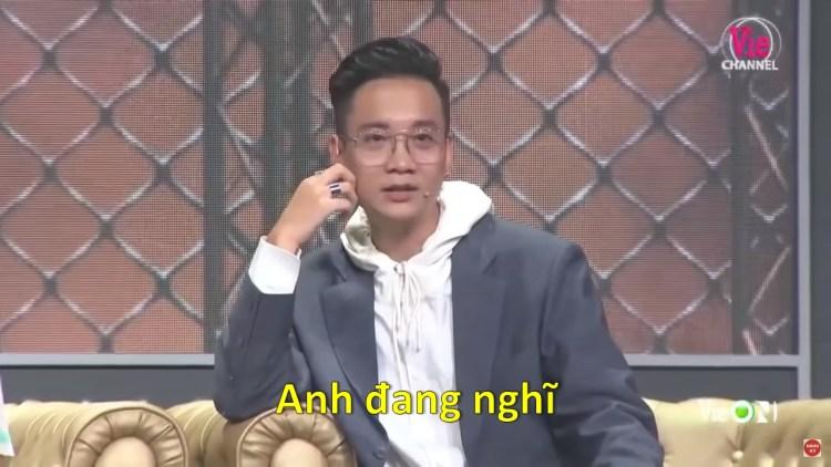 Lucloi.vn_Anh Đang Nghĩ - JustaTee / Rap Việt meme