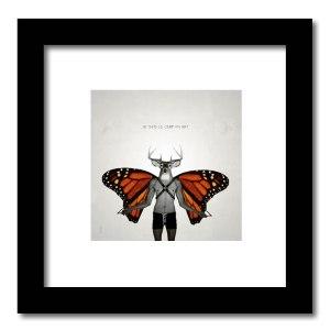 [ VENDU petit format 2/15 ] Le cerf volant #2 / Luc Pallegoix, 2013. Encre pigmentaire sur papier Moab blanc 300 gr. Disponible en grand format  50 x 50 cm 5 ex.  ou moyen format   23 x 23 cm 10 ex.   ou petit format   12,5 x 12,5 cm 15 ex.  