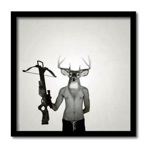 [ VENDU grand format 1/5 ]So you killed my mother / Luc Pallegoix, 2013. Encre pigmentaire sur papier Moab blanc 300 gr. Disponible en grand format |50 x 50 cm 5 ex.| ou moyen format | 23 x 23 cm 10 ex. | ou petit format | 12,5 x 12,5 cm 15 ex. |