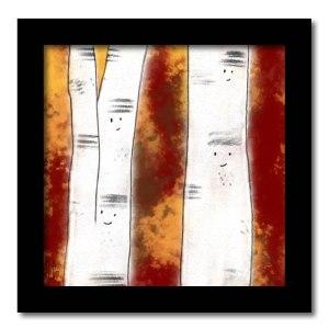 [ VENDU moyen format 1/10 ] Un arbre – Strophe 9 / Luc Pallegoix, 2014. Tirage d'art, encre pigmentaire sur papier Moab blanc 300 gr. Disponible en moyen format | 23 x 23 cm 10 ex. |