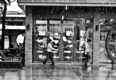 Avoiding the rain