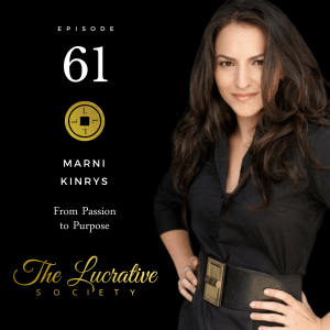 Marni Kinrys Wing Girl - The Lucrative Society podcast