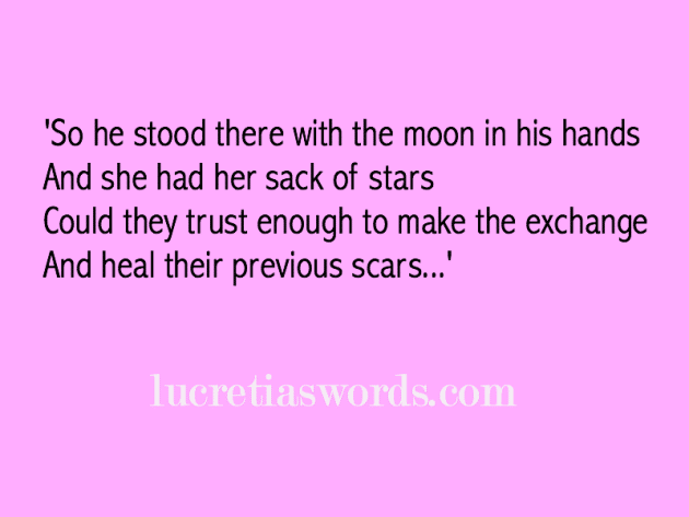 The Moon and the Stars