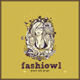 = fashiowl poses = logo 1024x1024