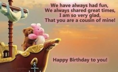 Happy Birthday Wishes For Cousin Sister Birthday Messages Images And Quotes