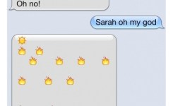 Funny Clever Emoji Balloon Story