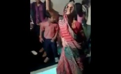 Funny Old Lady Dance In Indian Wedding