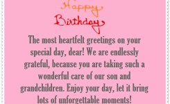 Happy Birthday Sentiments For Daughter In Law