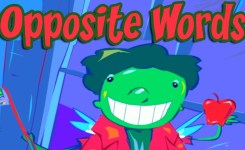 Opposites Funny Game For Kids Find Opposite Words Antonyms Educational S For Children You
