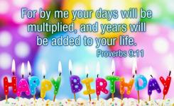 Bible Verses For Birthday Wishes For Wife Birthdays Are Perfect Reminders To Reflect On Thanking Parents Elders And More Importantly Almighty Who
