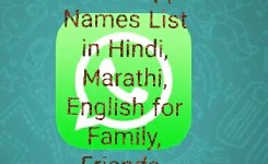 Whatsapp Group Name List In Hindi