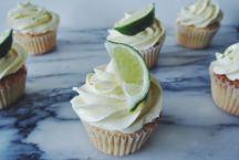 Elderflower and Gin Cupcakes