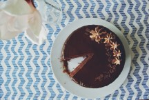 Chocolate Cake With Salted Caramel