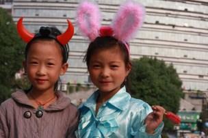 Girls, Jingdezhen, Jiangxi
