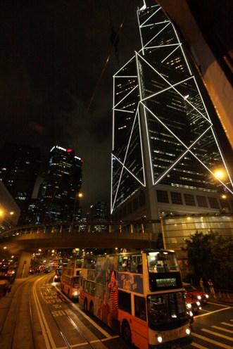 View from tram, Hong Kong