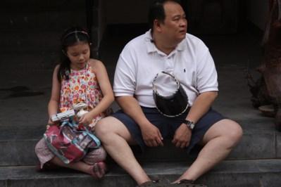 Visitors to the Dirt Market - Panjiayuan - Beijing