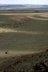 Desert near Khar Us Nuur (Dark Water lake), West Mongolia