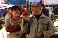 Market traders, Litang, Sichuan