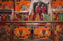 Dalai Lama image, Temple near Ganzi, NW Sichuan